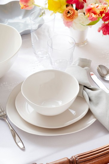 12 Piece Sophie Conran Cream Arbor Dinner Set
