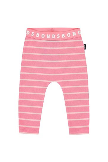 Bonds Pink Camellia/Sparkling Stretchies Leggings
