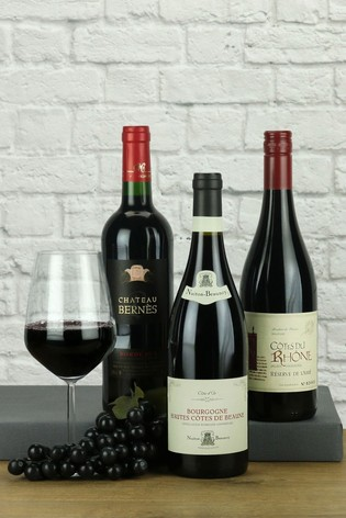 Trio of French Red Wines by Le Bon Vin