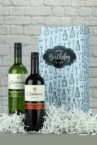 Happy Birthday Chilean Twin Gift Box by Le Bon Vin