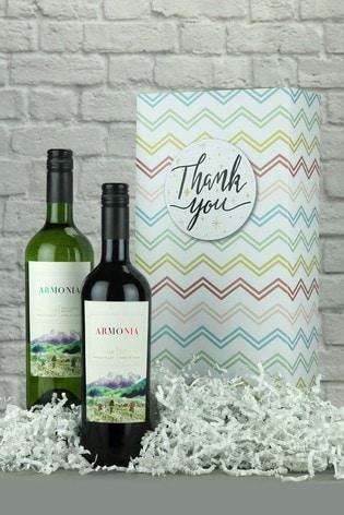 Thank You Chilean Wine Gift Box by Le Bon Vin