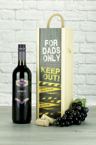 Dads Only Merlot Wine Gift by Le Bon Vin