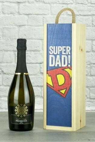 Super Dad Prosecco Wine Gift by Le Bon Vin