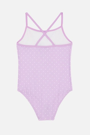Angels by Accessorize Pink Sequin Ice Cream Swimsuit