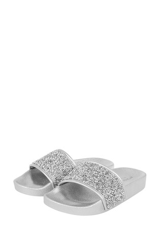 Monsoon Silver Dazzle Sliders
