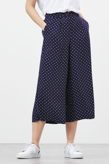 Joules Rebecca Woven Culottes