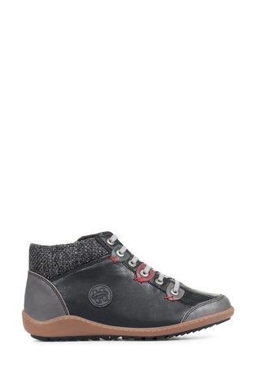 Loretta Black Ladies Ankle Boots