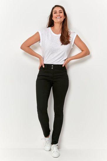 M&Co Black Lift And Shape Slim Jeans