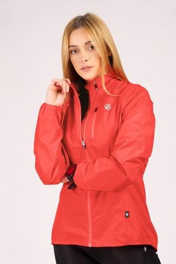Dare 2B Pink Womens Mediant Waterproof Jacket