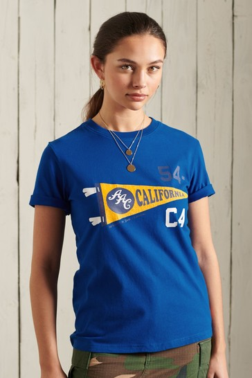 Superdry Athletic Association California Graphic T-Shirt
