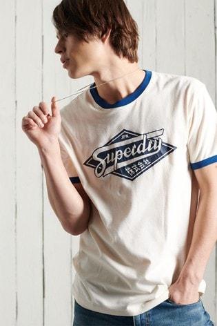 Superdry Boho Ringer Graphic T-Shirt