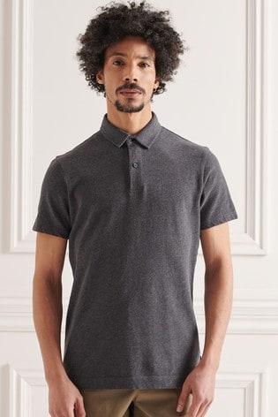 Superdry Organic Cotton Studios Jersey Polo Shirt
