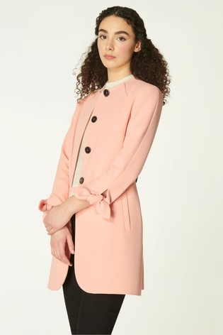 L.K.Bennett Pink Maisie Coat