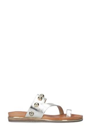 Carvela Gold Karafe Sandals