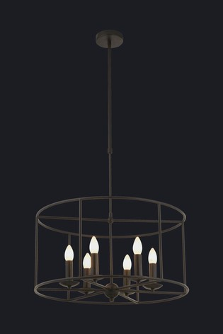 Searchlight Elvira 6 Light Ceiling Light