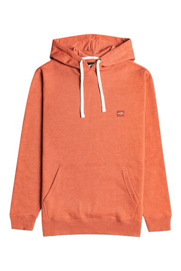Billabong Red All Day Pullover Hoodie