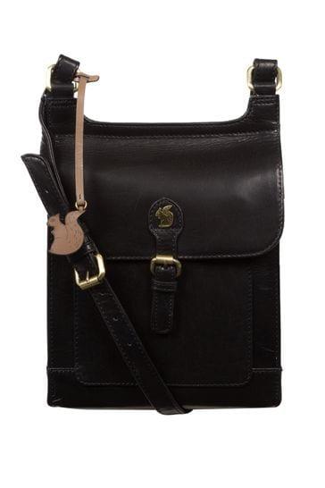Conkca Sasha Leather Cross Body Bag