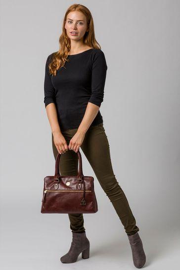 Pure Luxuries London Poppy Leather Handbag