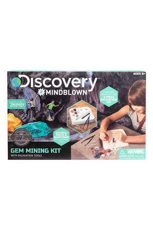 Discovery Toy Excavation Kit Gems