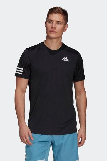 adidas Tennis Club 3 Stripes T-Shirt