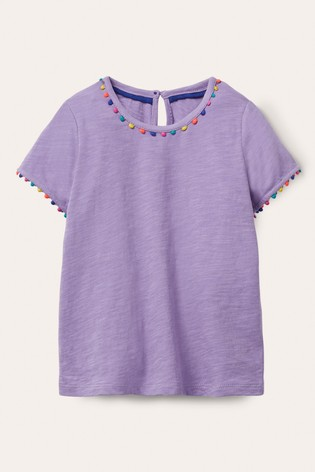 Boden Charlie Pom Jersey T-Shirt