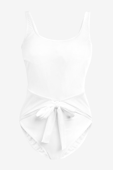 Figleaves White Icon Venice Underwired Shaping Swimsuit