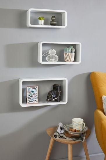 Set of 3 Rectangular Shelves By Lloyd Pascal