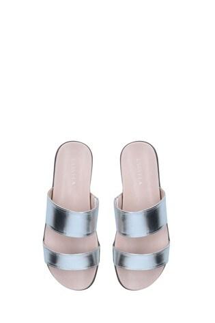 Carvela Chrome Alibi Sandals