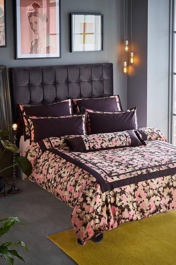 Ted Baker Pink Smudge Floral Duvet Cover