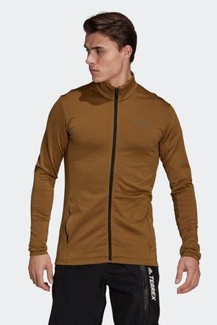 adidas Terrex Multi Primegreen Full Zip Fleece Jacket