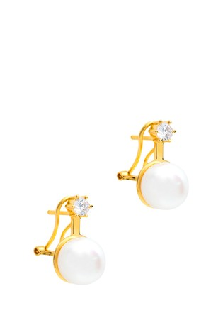 Pure Luxuries London Holton Freshwater Pearl Earrings