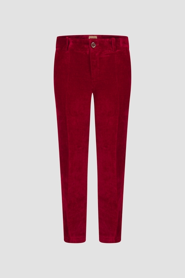Boys Red Trousers