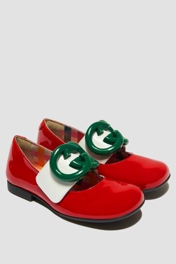 Girls Red Pumps