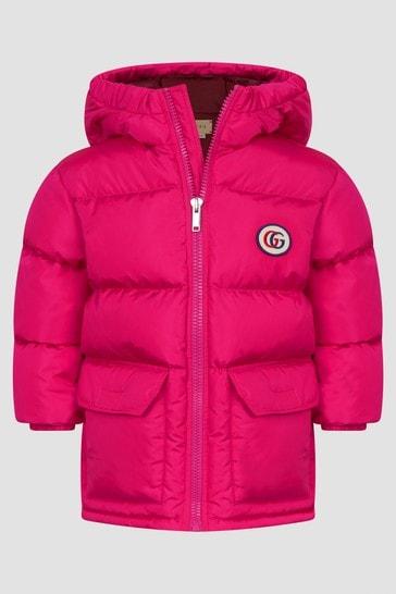 Baby Girls Fuchsia Jacket