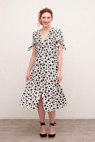Nobody's Child Alexis Star Print Midi Dress