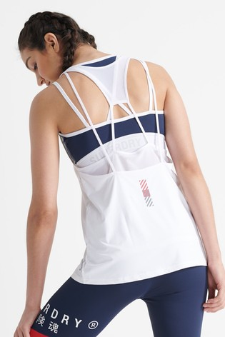 Superdry Training Strappy Tank