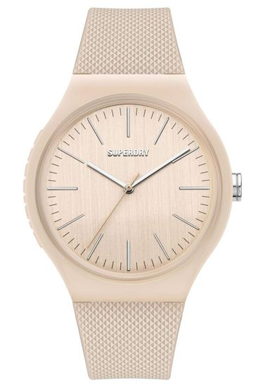 Superdry White Silicone Soft Touch Watch