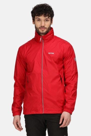 Regatta Red Lyle IV Waterproof Shell Jacket