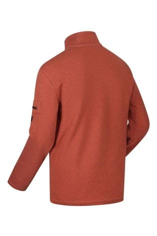 Regatta Orange Tavior Half Zip Fleece