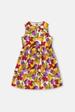 Cath Kidston Small Painted Fruit Charlotte Dress
