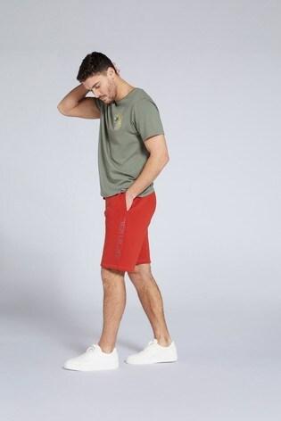 Animal Mens Unwind Organic Jogger Shorts