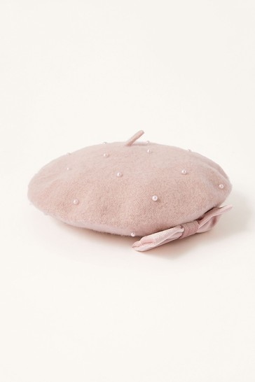 Monsoon Pink Amelie Hat
