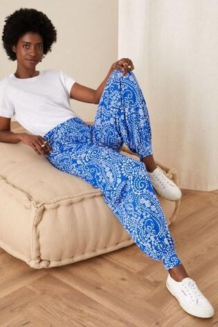 Monsoon Paisley Print Hareem Trousers