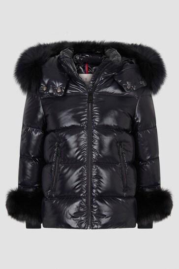 Girls Black Esra Jacket