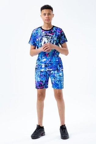 Hype. x Nerf Blue Grafiti Shorts