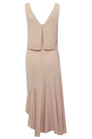 Glamour Bias Cut Midi Dress