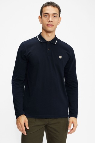 Ted Baker Fulhumm Ls Polo Shirt