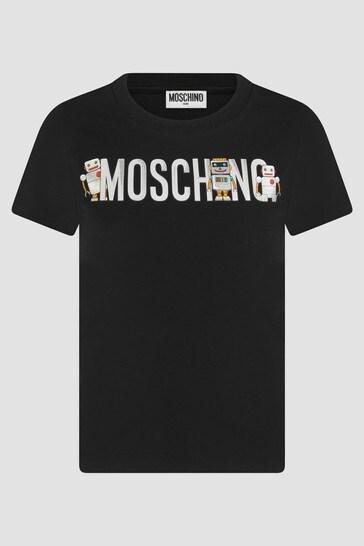 Boys Black T-Shirt