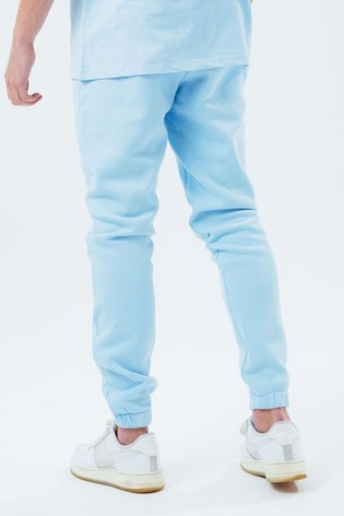 Hype. Mens Blue Vintage Baggy Fit Joggers