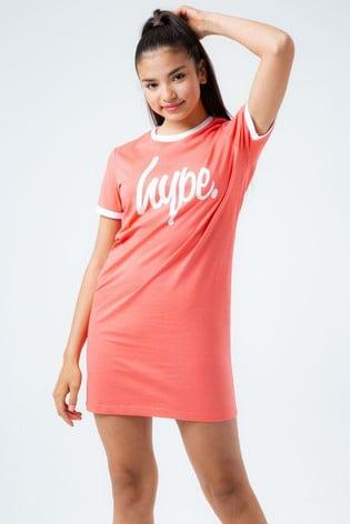 Hype. Kids Coral T Dress